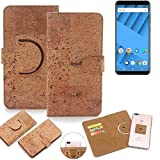 K-S-Trade 360° Cover cork Case for Vernee M6 | Smartphone