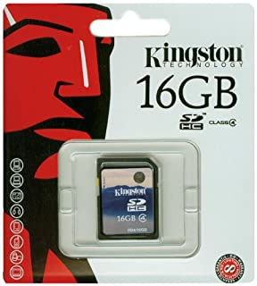 Kingston SDHC - Tarjeta de Memoria de 16 GB (Clase 4) (B0013AV9TW) | Amazon price tracker / tracking, Amazon price history charts, Amazon price watches, Amazon price drop alerts