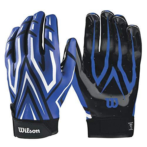 Wilson The Clutch Skill American Football Handschuhe - blau Gr. XL