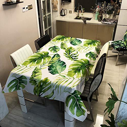 Csuper Moderne Minimalistische Pflanzenblume Tischdecke Home Supplies Hotel Esstisch Couchtisch Schreibtisch Tischdecke Digitaldruck Cartoon Tierserie Tischdecke