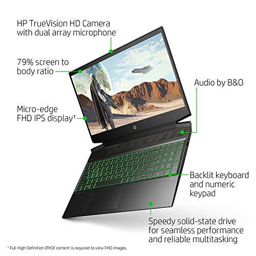 HP Pavilion Gaming 15 Laptop, NVIDIA GeForce GTX 1650, AMD Ryzen 5 4600H, 8GB DDR4 RAM, 512 GB PCIe NVMe SSD, 15.6