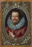 Portrait of Johan De WITT Poster Drucken (60,96 x 91,44 cm)
