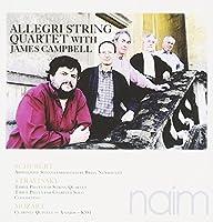 Schubert: Arpeggione Sonata; Stravinsky: Three Pieces for String Quartet; Mozart: Clarinet Quintet by The Allegri String Quartet (2011-02-08)