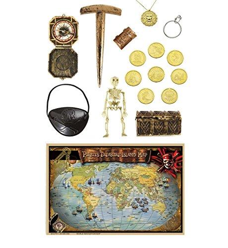 Widmann Kit Accessoires Pirate Luxe - Taille Unique