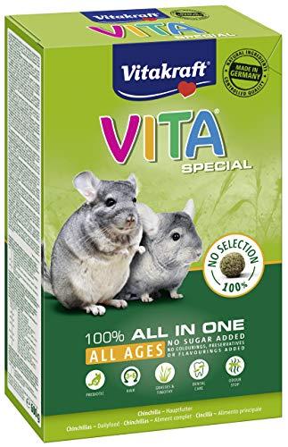Vitakraft Vita Spécial - Alimentation complète pour Chinchillas - 600 gr