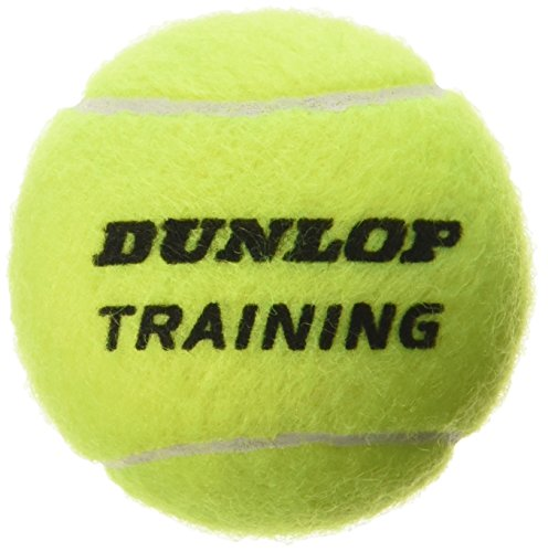 Dunlop Unisex-Adult 605034 Tennisball Training-60 polybag, Gelb, One Size