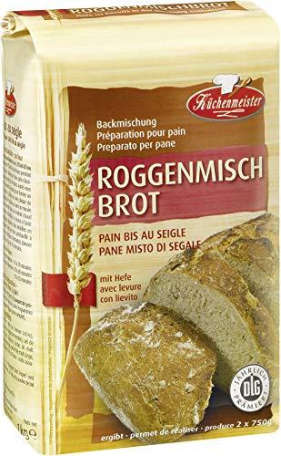 Küchenmeister Roggenmischbrot Backmischung 1 kg