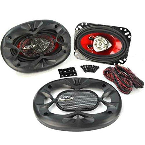 2 BOSS Audio Systems CH4620 CH 4620 Haut-parleurs coaxiaux 2 Voies 4\
