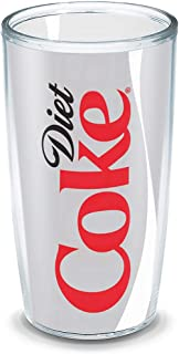 Tervis Coca-Cola - Diet Coke Insulated Tumbler with Wrap, 16oz, Clear