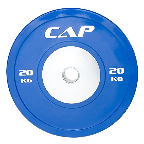 CAP Barbell Olympic Competition Rubber Bumper Plate