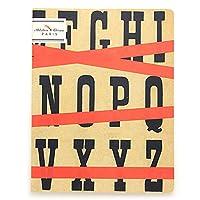 レポンジ ノートブック アルファベット