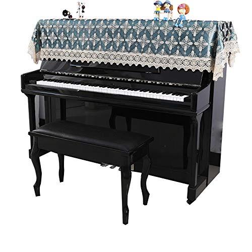 Cubierta del Piano Piano Antiguo Piano Vertical Cubierta de