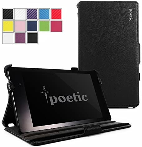 Google Nexus 7 2013 Case Poetic Google Nexus 7 2013 Case StrapBack Series PU Leather View Stand product image