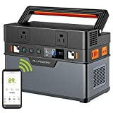 ALLPOWERS Portable Generator 666Wh/185200mAh Power Station Backup Emergency Power Supply Pure Sine wave with DC/AC Inverter,Charged by Solar Panel/ Wall Outlet/Car for Camping, Home Use, RV, Outdoor