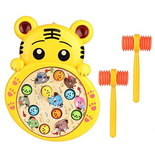 Juguete de rompecabezas suave, juguete musical, niños para el hogar, niños, familia(Tiger)