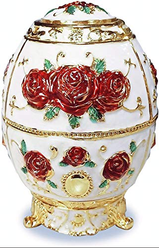 Royal Automatic Toothpick Box Golden Embossed Round Toothpick Holder for Home Hotel and Restaurants (Turlove)