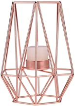 NXYCXXJS Wrought Iron Geometric Candle Holder Home Decoration Metal Crafts (Color : C)