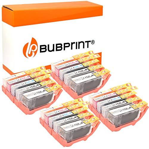 20 Bubprint Druckerpatronen kompatibel für Canon PGI-525 CLI-526 für IP4850 IP4950 IX6550 MG5150 MG5250 MG5300 MG5350 MG6150 MG6250 MG8150 MG8250 MX715 MX885 MX895 Multipack