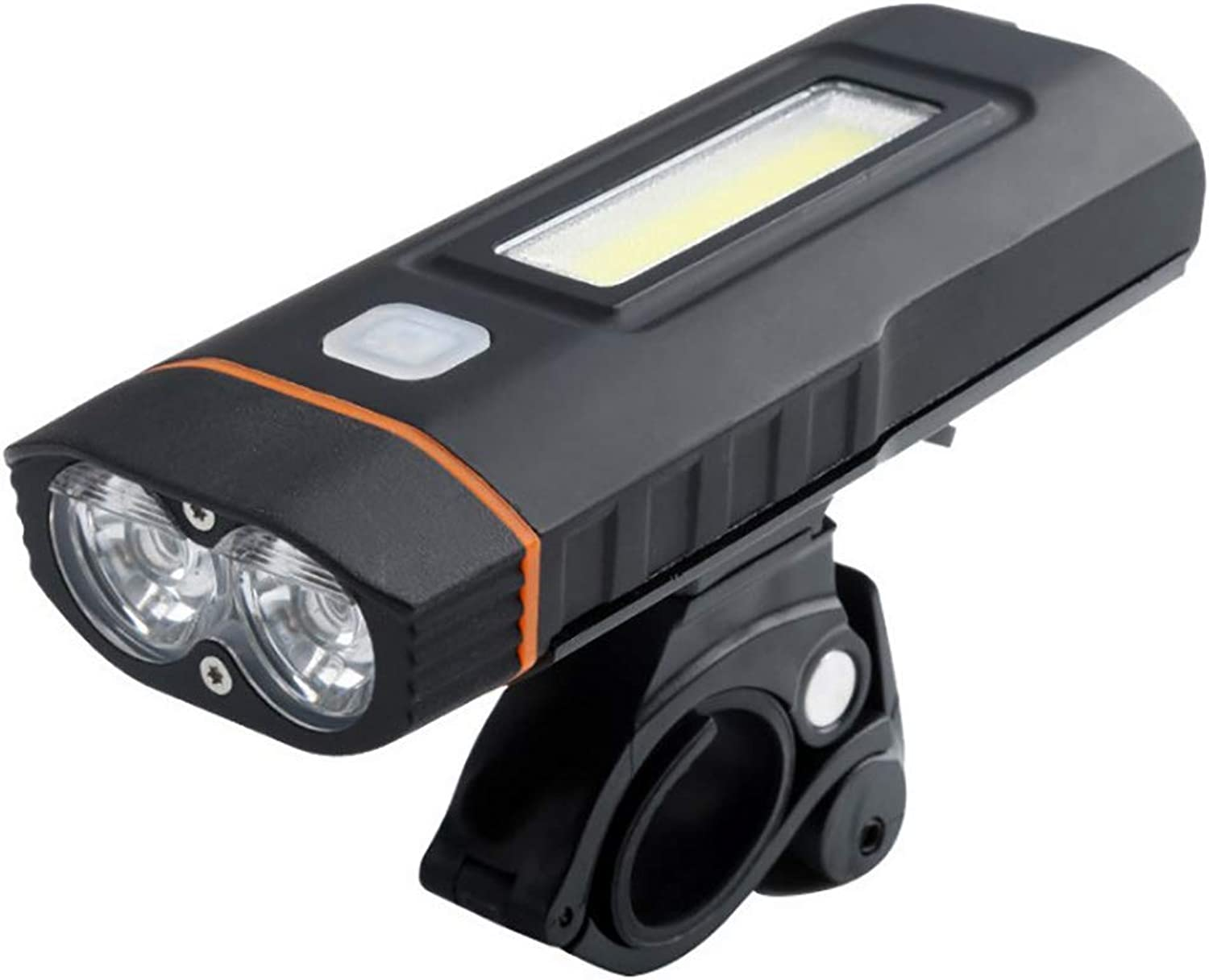 USB Rechargeable Bicycle Glare Flashlight Has 160 Degree redatable 3 Modes Suitable for Night Lighting Warning Running Riding Fishing Cave to Explore Outdoor 1000 Lumens