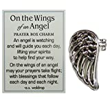 On The Wings of an Angel Zinc Prayer Box Charm w/Story Card by Ganz