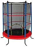 garlando trampolino combi xs per esterno con rete di protezione inclusa Ø 140 cm multicolore