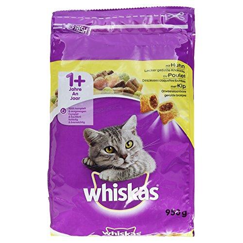 Whiskas - 1+ Croccantini con Pollo 1 Sacchetto 950,00 gr