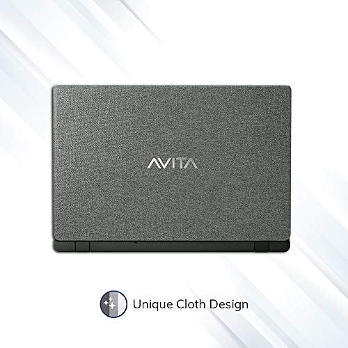 AVITA Essential NE14A2INC433-MB 14-inch Laptop (Celeron N4000/4GB/128GB SSD/Window 10 Home in S Mode/Integrated Graphics), Matt Black