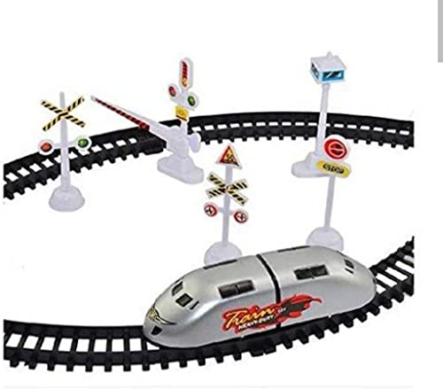 Bingo TS Playy Gift Gallery Presents Good Quality High Speed Battery Operated Train Set for Kids (Small Metro)