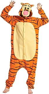 AooToo Halloween Onesie Costume Animal Cosplay Pajamas Unisex