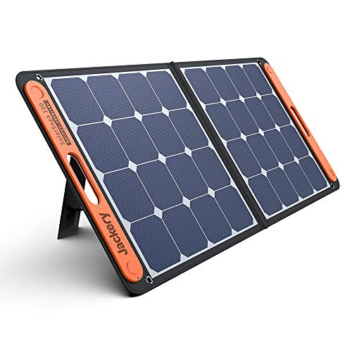 Jackery SolarSaga 100 ソーラーパネル 100W ETFE ソーラーチャージャー折りたたみ式 DC出力 DCポータブル...