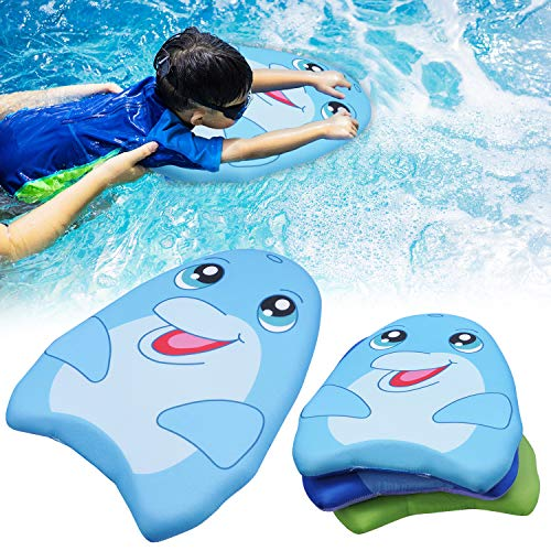 JOYIN Learn-to-Swim Kickboard Shark&Dolphin&Turtle 3Packs for Kids...