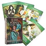 SYJH Juegos de Cartas Tarot, baraja Tarot oraculo, Patrón único y Exquisito, Embalaje de Caja Colorida(Color:Tarjetas de oráculo de propósito de Vida)