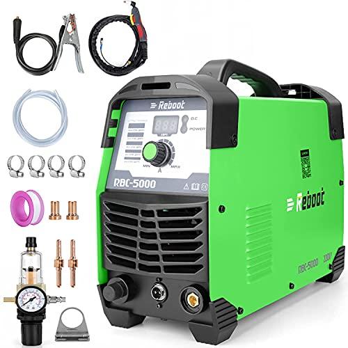 Reboot Taglierina al plasma 50A 230V IGBT Inverter Taglierina al plasma Clean Cut CUT50 Taglio a contatto 15mm per lamiere verniciate e pellicole antiruggine