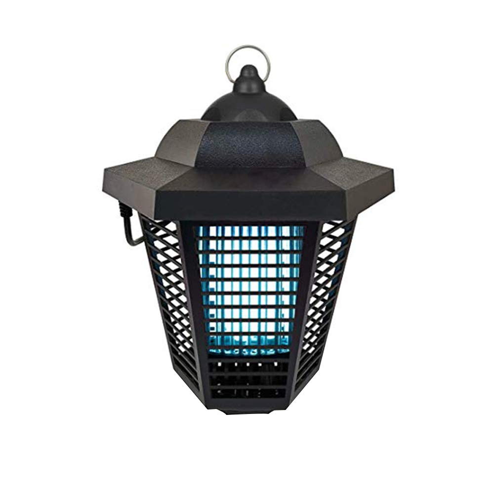 Uonlytech LED Mosquito Killer, Mute Photocatalys Mosquito Repellent Lamp, LED Bug Zapper for Home Use (Black)