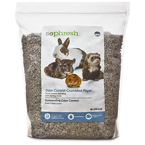 So Phresh Scented Crumbled Paper Small Animal Bedding, 40 Liters...