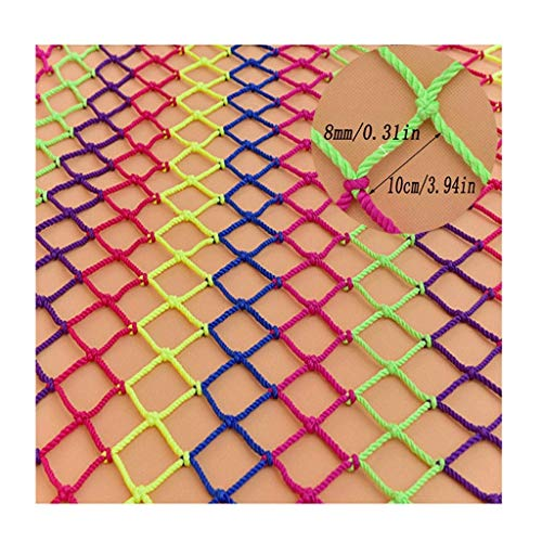 Buy Discount Zjnhl Home Protection net Child Safety Net Protection Net Color Decorative Net Balcony ...