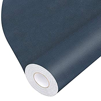 Leather Repair Tape Self-Adhesive Leather Repair Patch for Handbags,Furniture Drivers Seat Sofas Car Seats  Blue 17X79 inch