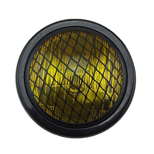 TASWK 6.5' Motorcycle Headlight w/Grille for...