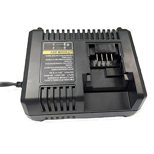 3A Para Black & Decker 10.8V-20V Cargador de batería de ion de litio Herramienta de repuesto Cargador de batería para L2AFC Stanley FMC69DL