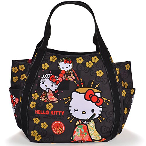 Hello Kitty Limited Japanese Pattern Mothers Bag Tote Bag  KITTY-WG  Miyabi Japan Import