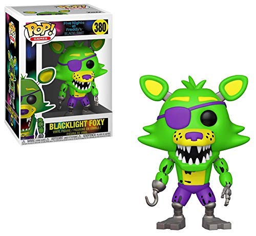 Funko Figura Pop Blacklight Foxy Exclusive - Five Nights en FreddyS