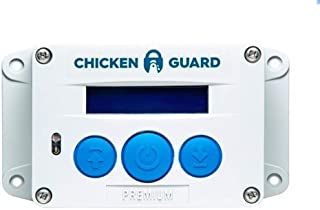 ChickenGuard Automatic Chicken Coop Door Openers, 3 Models, Timer/Light Sensor, Lift up to 4kg Pop Hole Door, Batteries (Premium)