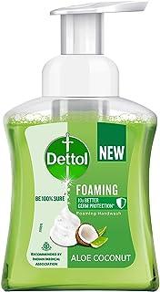 Dettol Aloe Coconut Foaming Handwash Pump, 250ml