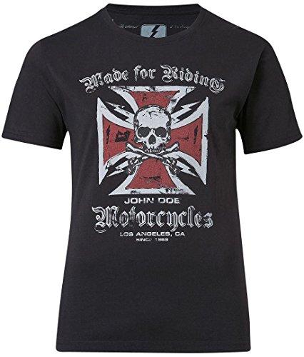 John Doe T-Shirt Cross Black-XXXXL