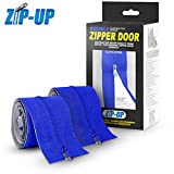 Zip-Up Products ZIP7.3BCL Peel & Stick Dust Containment Zip Barrier 7ft x 3in Zipper Door