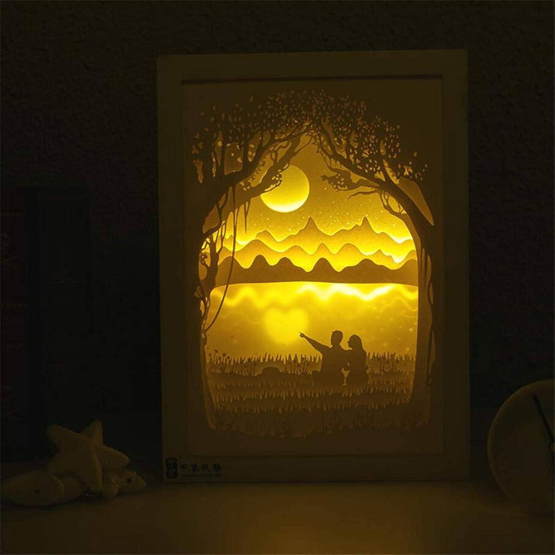 Nachtlicht Led-Nachttischdekoration Fernsteuerungsauge Der Energiesparenden Kreativen Bunten Nachtkinder Der Nachtlichtkinder Führte Licht