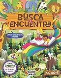 Busca y Encuentra los Animales 3-6 años: Libro Actividades 3,4,5 y 6 años infantil Preescolar, Libro Interactivo Divertido Cuaderno Vacaciones verano, Juegos y Pasatiempos Educativos niños de Viaje