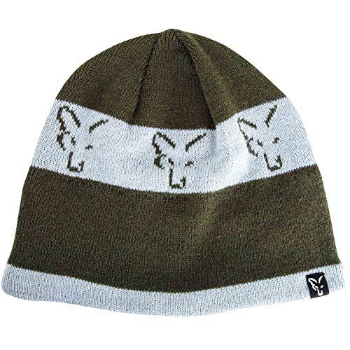 Fox Green Silver Beanie CPR992 Beanie Hat Mütze Wintermütze