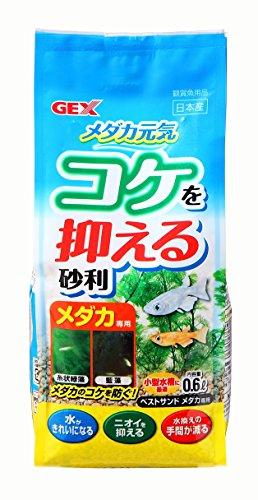 ジェックス ベストサンド メダカ専用 砂利 0.6粒(粒サイズ:1-3mm)