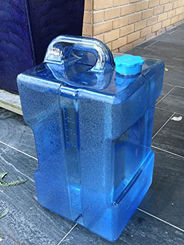 WWJQ Tanque De Almacenamiento Cubo para Camping al Aire Libre, Bidón de Agua de Depósito de Agua Plástico, Ideal para Acampada, Zumos y Cócteles